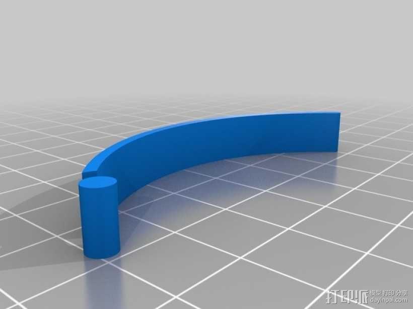 定制化食品袋夹 3D模型  图13