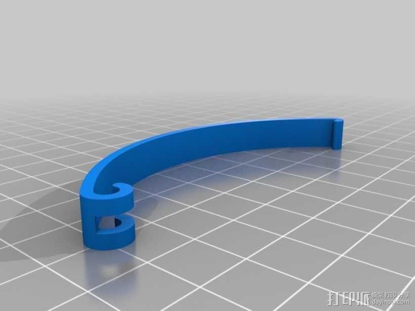 定制化食品袋夹 3D模型  图14