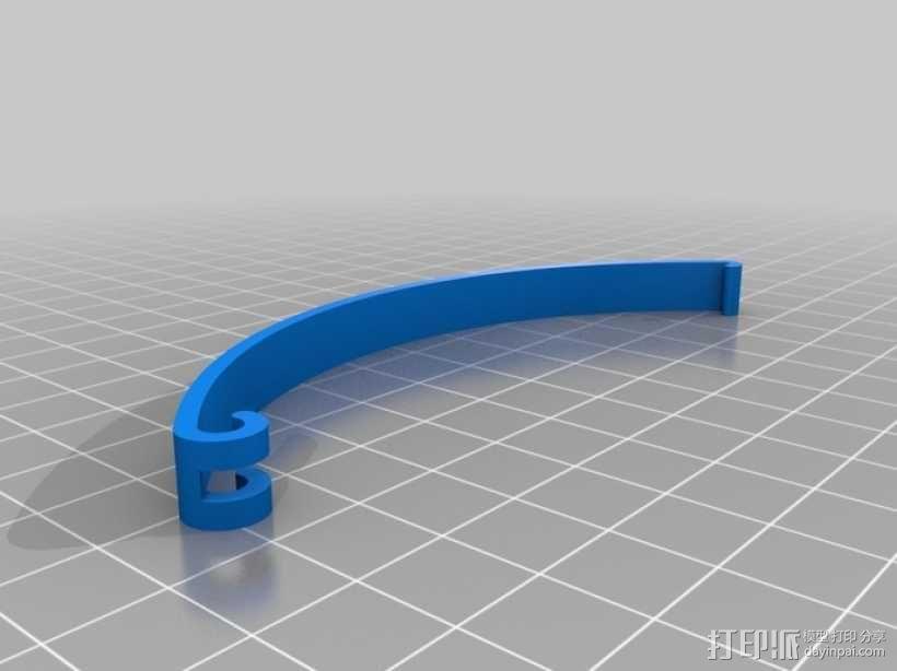 定制化食品袋夹 3D模型  图18