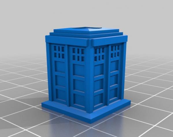 塔迪斯吸管 3D模型  图4