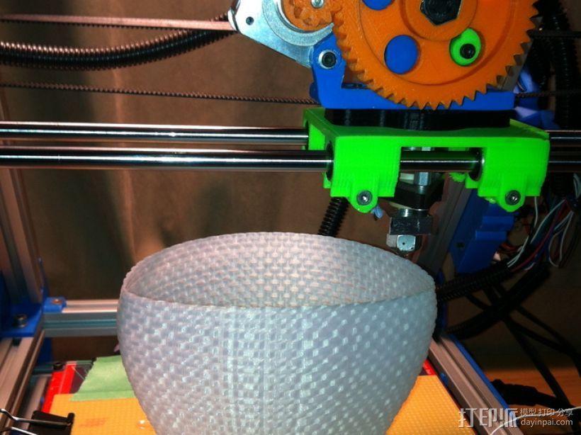 滚花形圆形花瓶 3D模型  图9
