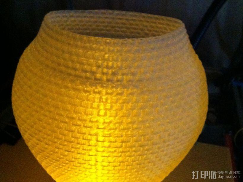 滚花形圆形花瓶 3D模型  图10