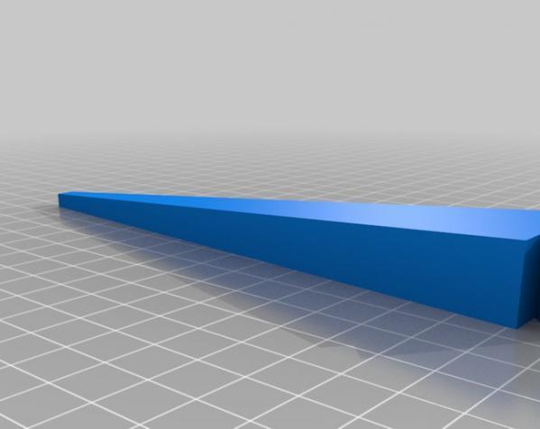 玻璃瓶晾干架 3D模型  图1