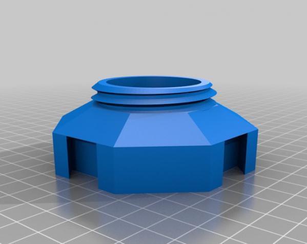 玻璃瓶晾干架 3D模型  图3