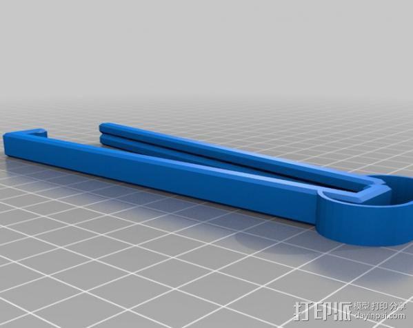 食品包装袋夹 3D模型  图6