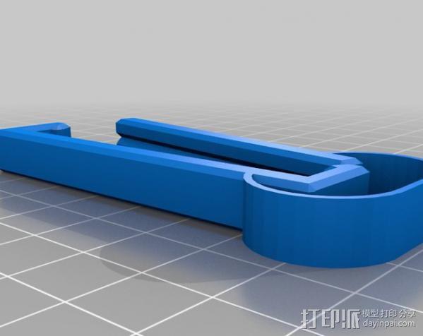 食品包装袋夹 3D模型  图4