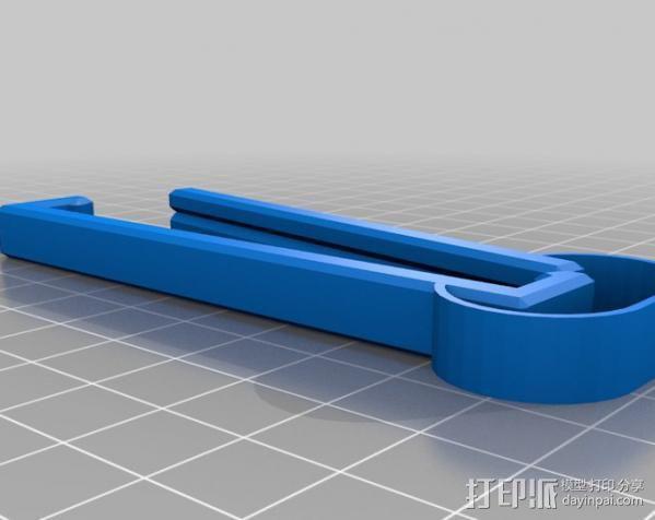 食品包装袋夹 3D模型  图5