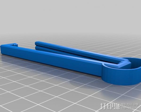 食品包装袋夹 3D模型  图7