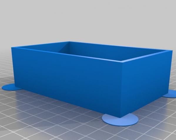参数化镂空容器/盒子 3D模型  图5