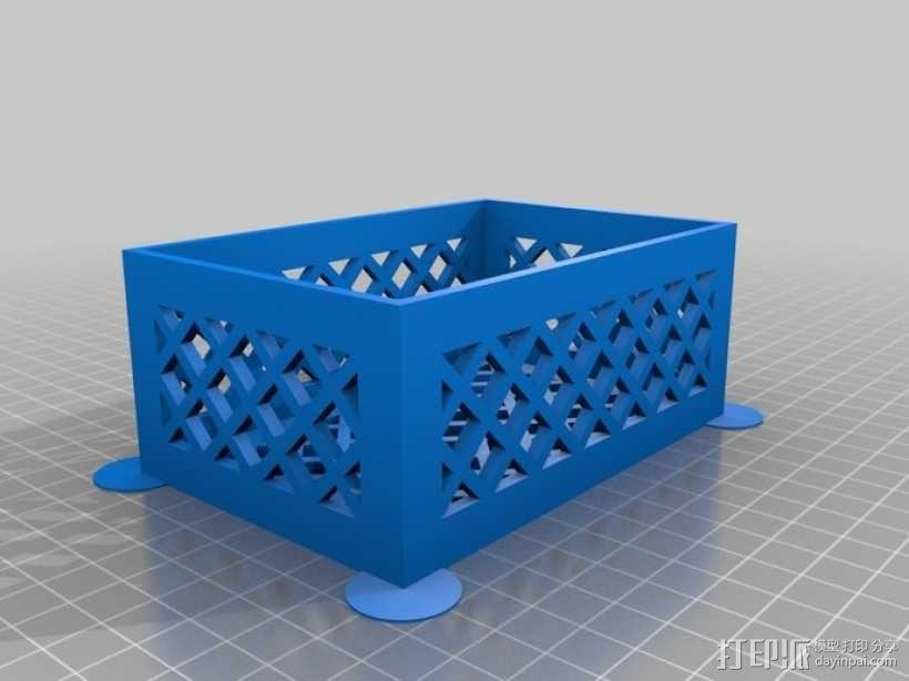 参数化镂空容器/盒子 3D模型  图7