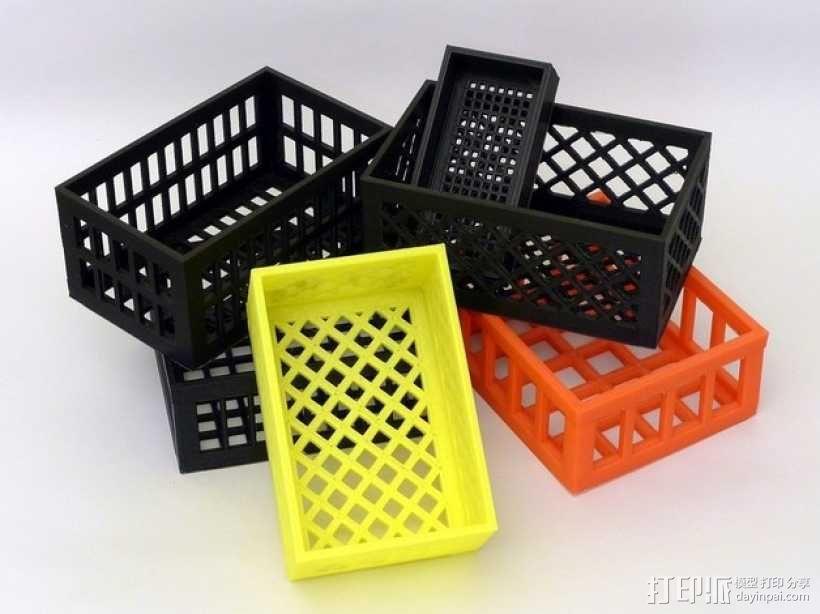 参数化镂空容器/盒子 3D模型  图8