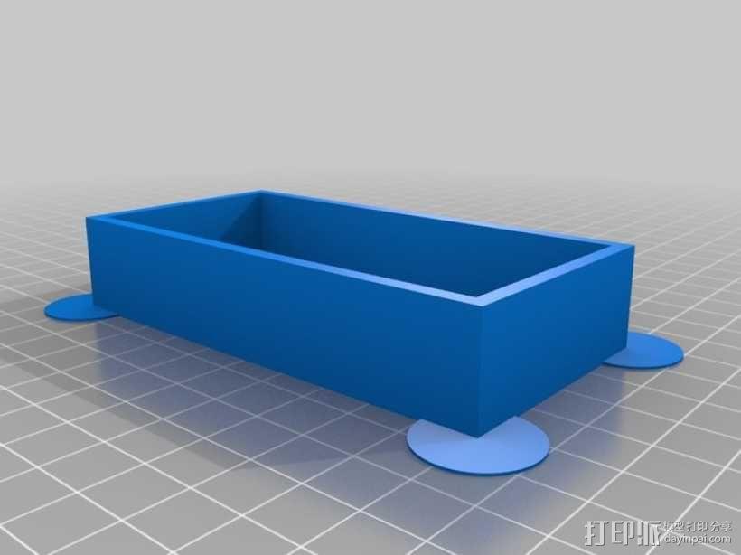 参数化镂空容器/盒子 3D模型  图6