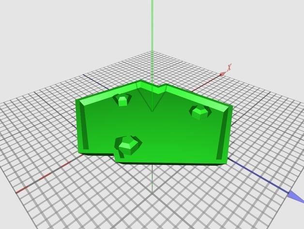 水晶形花盆 3D模型  图4