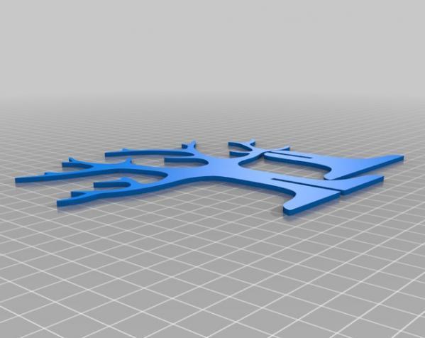 树形首饰架 3D模型  图4