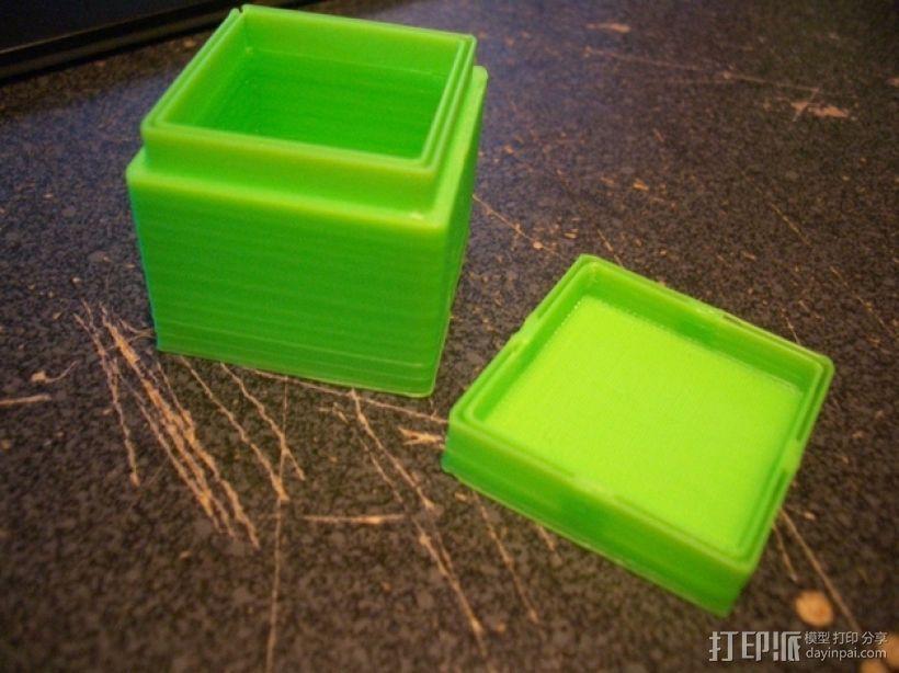 迷你方形小盒 3D模型  图6