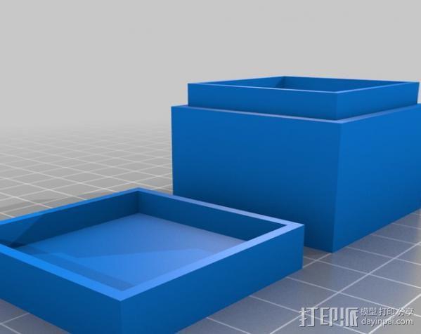 迷你方形小盒 3D模型  图10