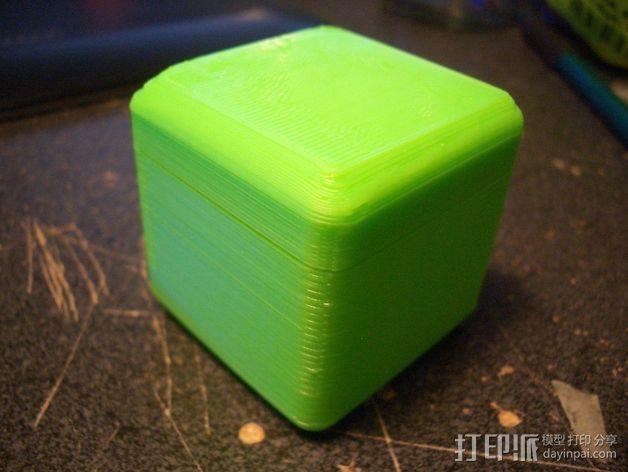 迷你方形小盒 3D模型  图9