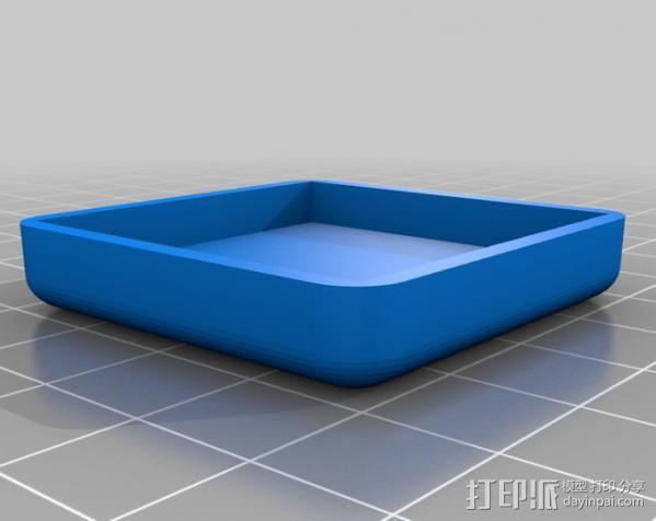 迷你方形小盒 3D模型  图11