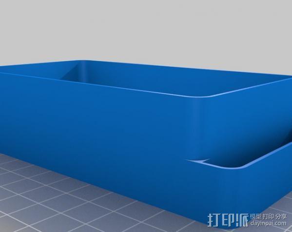 迷你收纳盒/容器 3D模型  图1