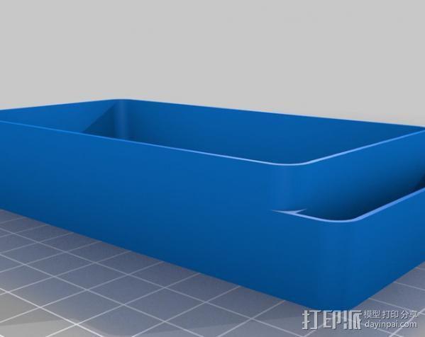迷你收纳盒/容器 3D模型  图5