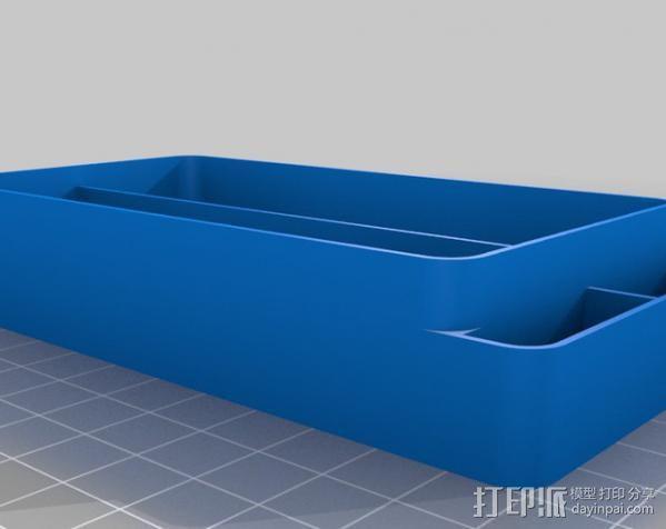 迷你收纳盒/容器 3D模型  图7