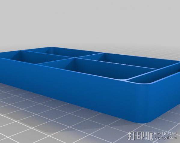 迷你收纳盒/容器 3D模型  图6