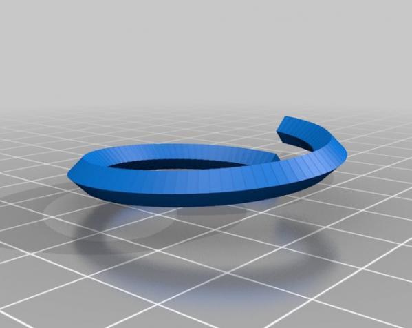 螺丝形文具盒 3D模型  图2