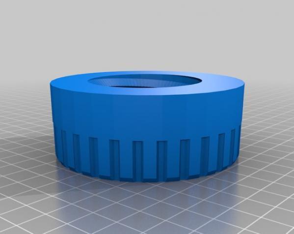 螺丝形文具盒 3D模型  图3