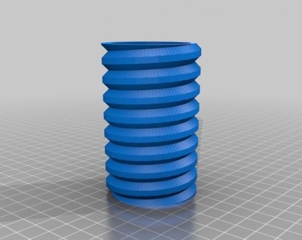 螺丝形文具盒 3D模型  图5