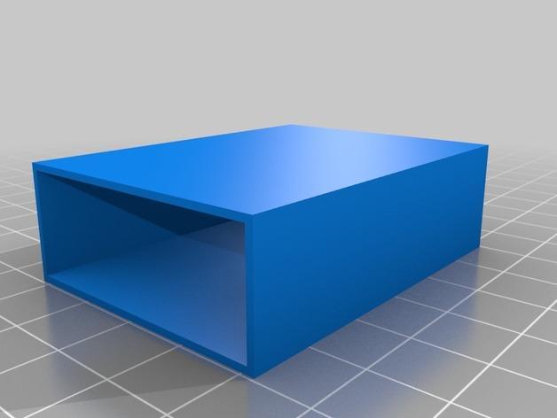 3D打印抽屉/橱柜 3D模型  图1