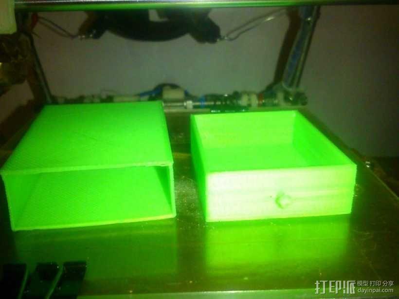 3D打印抽屉/橱柜 3D模型  图4
