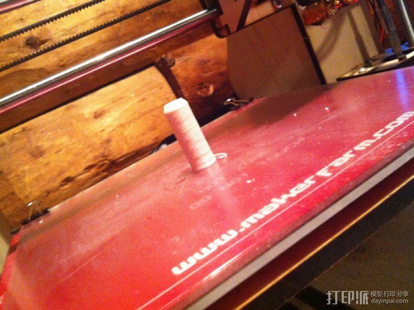 喷砂器喷嘴 3D模型  图1