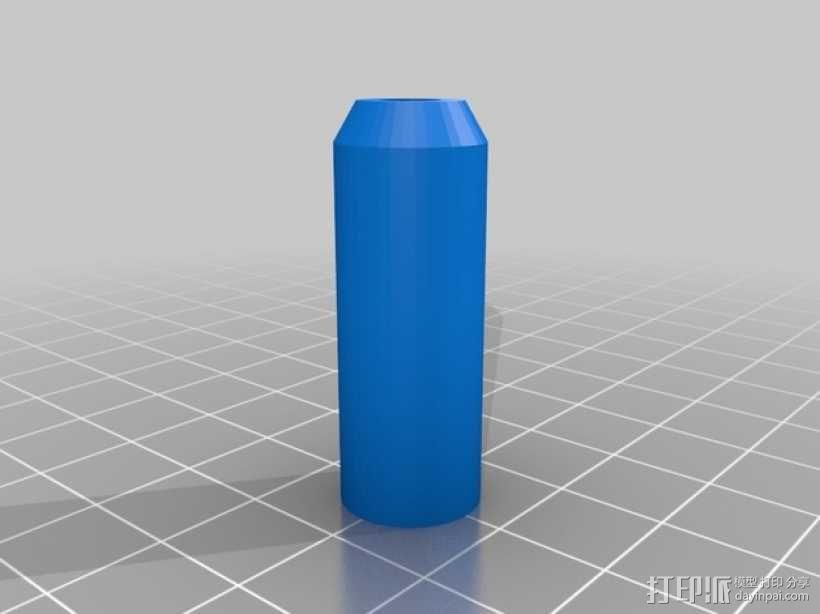 喷砂器喷嘴 3D模型  图2