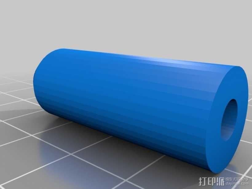 喷砂器喷嘴 3D模型  图3