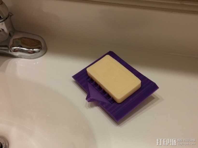 简易肥皂碟 3D模型  图2
