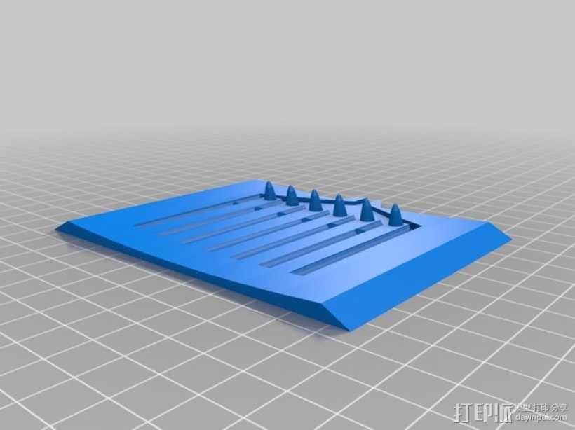 简易肥皂碟 3D模型  图3