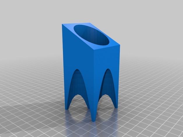 现代风格的茶蜡架 3D模型  图2