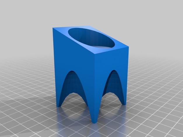 现代风格的茶蜡架 3D模型  图3