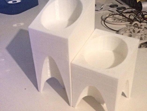 现代风格的茶蜡架 3D模型  图7