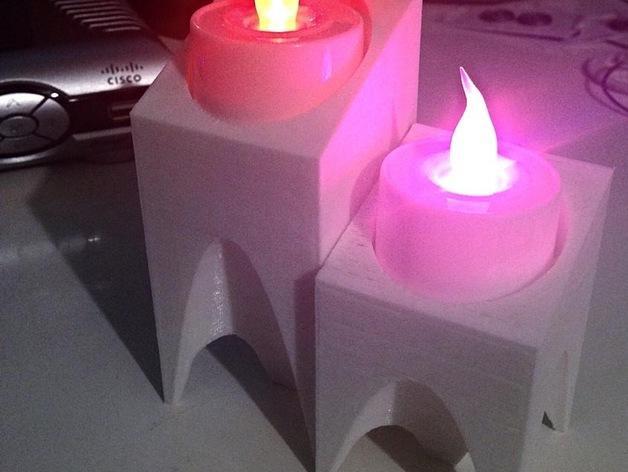 现代风格的茶蜡架 3D模型  图12