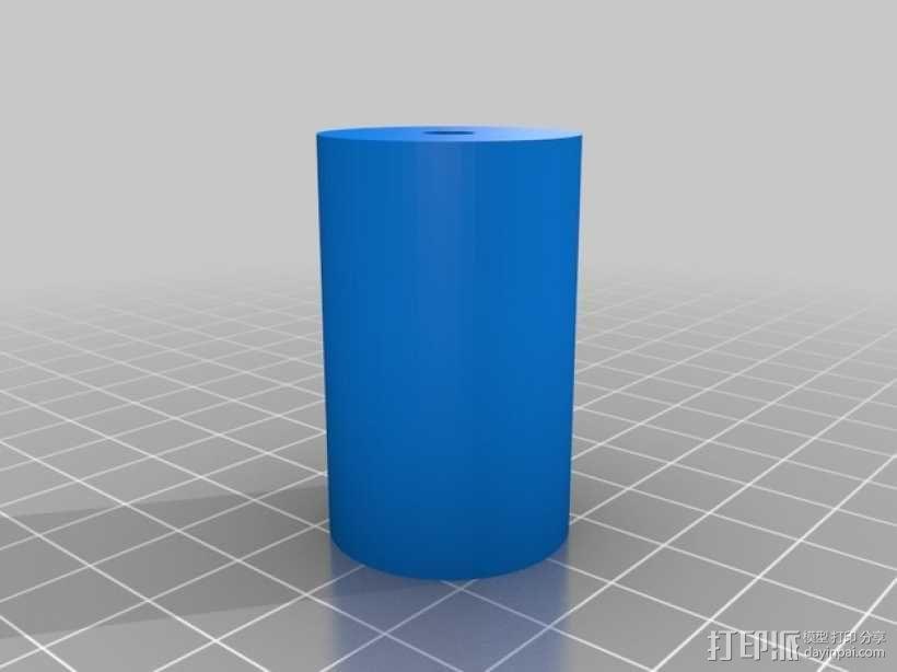宜家Lairvik床头架把手 3D模型  图2