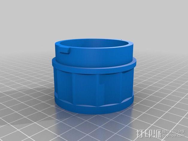 贝拉专业搅拌机盖 3D模型  图2