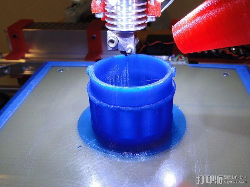 贝拉专业搅拌机盖 3D模型  图1