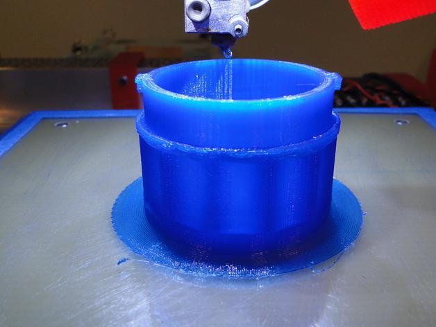 贝拉专业搅拌机盖 3D模型  图3