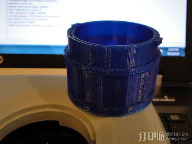 贝拉专业搅拌机盖 3D模型  图5