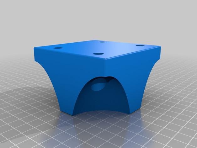 可自由组合沙发腿 3D模型  图2