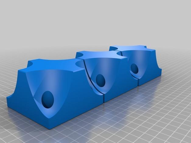 可自由组合沙发腿 3D模型  图3