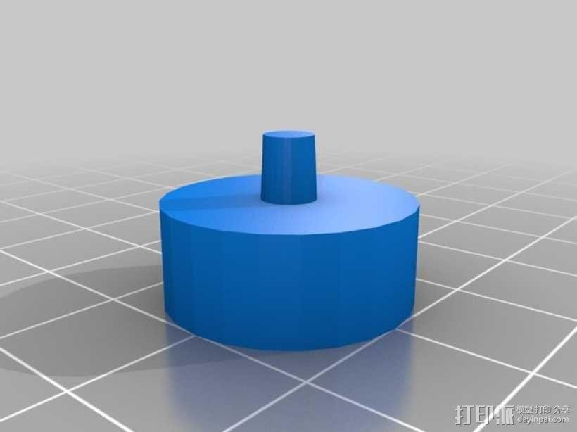 巴士形硬币盒 3D模型  图3