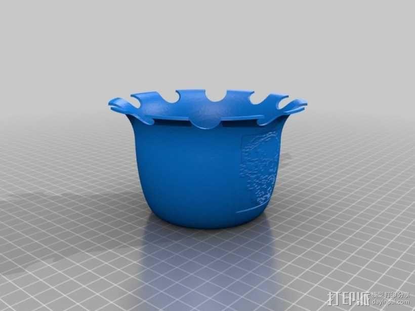 """""""苏格拉底""""花瓶 3D模型  图2"""