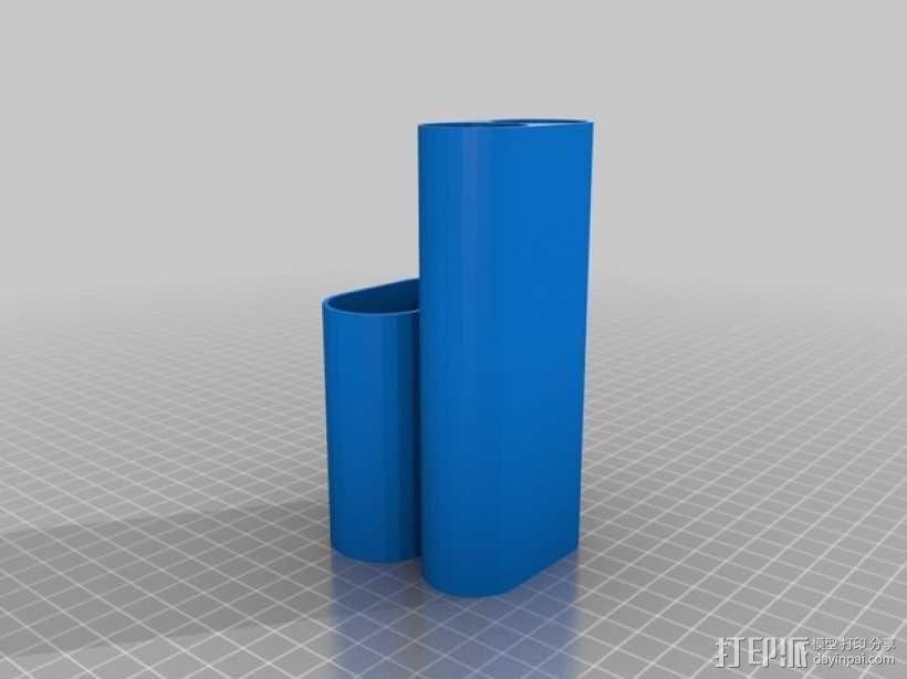 雪茄烟盒 3D模型  图1